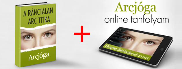Ajándék könyv és Arcjóga Program online tanfolyam