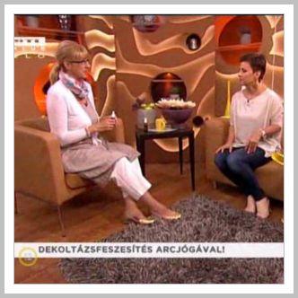 Dekoltázs feszesítés arcjógával – RTL Klub